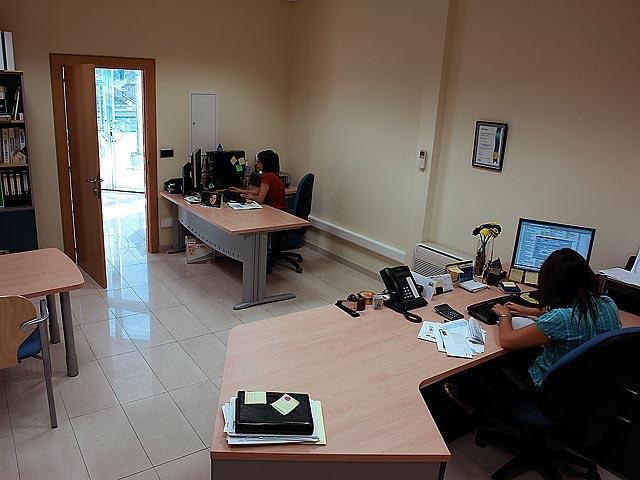 Oficina t cnica solinox for Planos de oficinas administrativas